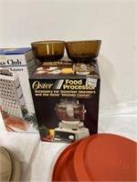 Oyster food processor cooks club measuring