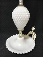 Vintage Hobnail lamps