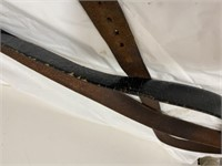 Nice leather belts