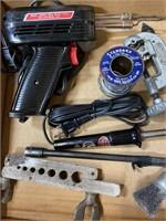 Misc. soder metal brushes grinder chips automatic