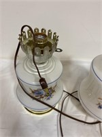Gone with the Wind style electric lamp