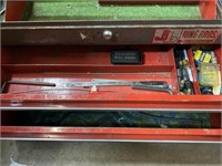Craftsman toolbox with some contents