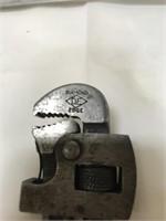 Diamond edge pipe wrench