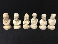 Lot of musical busts