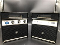 General electric vintage eight track stereo