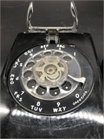 Vintage Western Electric Wall Mount Rotary Phone