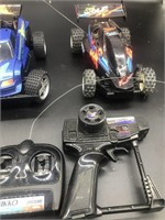 3-Nikko RC Cars Untested