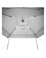 13 x 13ft LED lighted instant canopy