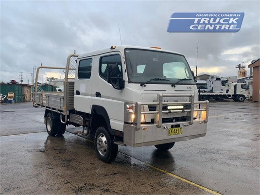 2016 Fuso Canter FG 4x4 Crew Cab Murwillumbah Truck Centre - Trucks for Sale