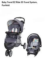 BabyTrend EZ Ride 35 Funfetti Travel System