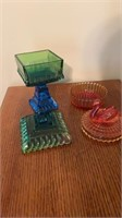 2 Color Candy Dishes