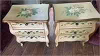 2 Decorative End Tables