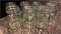 7- Jar drinking mugs
