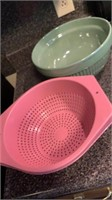Strainer & mixing bowl