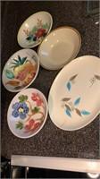 Bowls & Serving Plate
