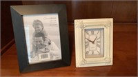Picture frame & Clock
