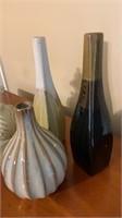 Vase set and decor