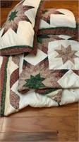 Full size comforter w/pillows