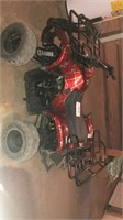 Coolster small four wheeler-battery seems to be