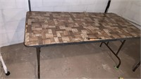 5 ft folding table