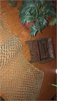 Vintage netting, home decor