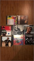 CDs- Tracy Lawrence, Alan Jackson, George strait,
