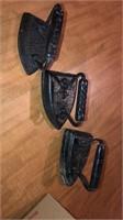 3 vintage irons
