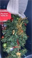 Large lot Christmas Decor