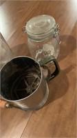 Bottle,jar,sifter