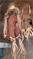 Scarecrow yard decorations