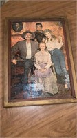 Beverly Hillbillies Puzzle  framed