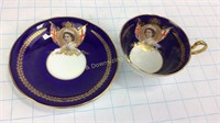 Elizabeth II Aynsley Bone China Teacup & Saucer