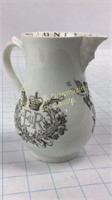 Elizabeth II Royal Worcester Bone China Jug