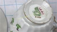 Elizabeth II Aynsley Bone China Teacup Thistles
