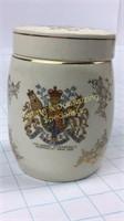 Elizabeth II Sandland Ware Tea Caddy
