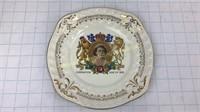 Elizabeth II Royal Alma Coronation Plate
