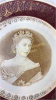 2 Elizabeth II Coronation Plates