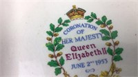 Elizabeth II Coronation Meakin & Plichta Dishes