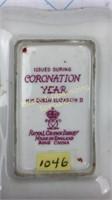 Elizabeth II Royal Crown Derby Dish