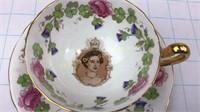 Princess Margaret 1958 Canada Visit Teacup