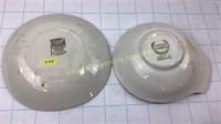 EIIR Silver Jubilee Plates Dishes & Mugs