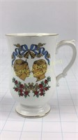 Princess Anne Wedding Mug Crown Staffordshire