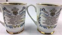 Prince Charles Investiture & Souvenir Mugs