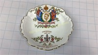 Edward VIII Abdication Dish Tuscan China