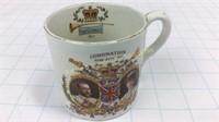 George V Coronation Mug Late Foley Shelley