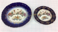 Edward VII Cobalt Blue & Gold Coronation China
