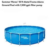 Summer Waves 18ft Active Frame Pool