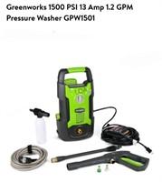Greenworks 1500PSI Pressure Washer