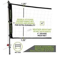 Dunlop Quick Setup Competitive Volleyball Set