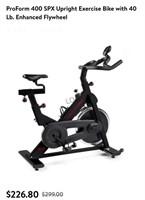 Proform 400 SPX Upright Exercise Bike